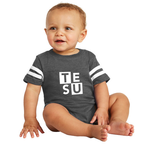 Infant Football Fine Jersey Bodysuit - Block - Close Out