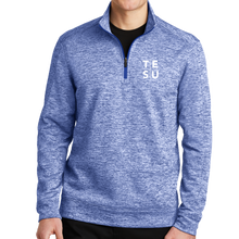 Load image into Gallery viewer, Sport-Tek PosiCharge Electric Heather Fleece 1/4-Zip Pullover- Grid