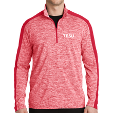 Load image into Gallery viewer, Sport-Tek PosiCharge Electric Heather Colorblock 1/4-Zip Pullover- TESU Sans