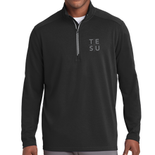 Load image into Gallery viewer, Sport-Tek Sport-Wick Textured 1/4-Zip Pullover- Grid