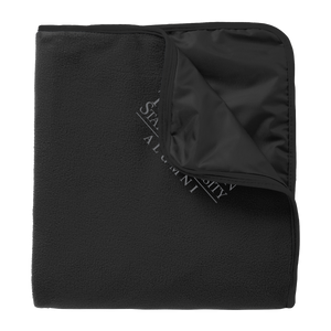 Fleece & Poly Travel Blanket-Alumni