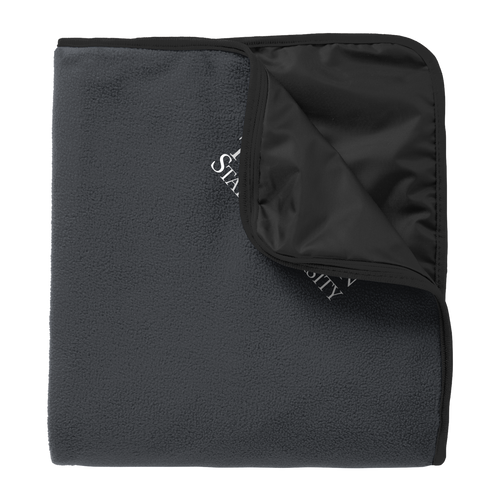 Fleece & Poly Travel Blanket-Academic