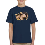 Sidney Maurer Original Portrait Of The Beatles Side Profile Kids T-Shirt - Kids Boys T-Shirt