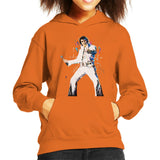 Sidney Maurer Original Portrait Of Elvis Presley Kids Hooded Sweatshirt - Kids Boys Hooded Sweatshirt