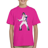 Sidney Maurer Original Portrait Of Elvis Presley Kids T-Shirt - Kids Boys T-Shirt
