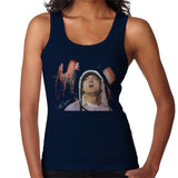 Sidney Maurer Original Portrait Of Eminem Womens Vest - Small / Navy Blue - Womens Vest