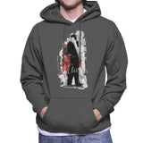 Sidney Maurer Original Portrait Of Frank Sinatra Side Shot Mens Hooded Sweatshirt - Mens Hooded Sweatshirt
