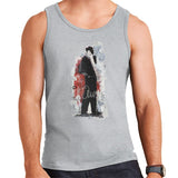 Sidney Maurer Original Portrait Of Frank Sinatra Side Shot Mens Vest - Mens Vest