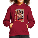 Sidney Maurer Original Portrait Of Hulk Hogan Kids Hooded Sweatshirt - Kids Boys Hooded Sweatshirt