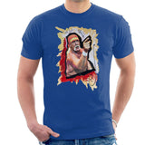 Sidney Maurer Original Portrait Of Hulk Hogan Mens T-Shirt - Mens T-Shirt