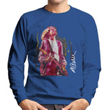 Sidney Maurer Original Portrait Of Kurt Cobain Guitar Mens Sweatshirt - Mens Sweatshirt