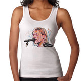 Sidney Maurer Original Portrait Of Kurt Cobain Singing Womens Vest - Womens Vest