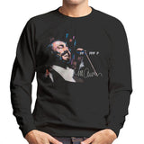 Sidney Maurer Original Portrait Of Luciano Pavarotti Mens Sweatshirt - Mens Sweatshirt