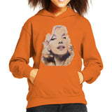Sidney Maurer Original Portrait Of Marilyn Monroe Kids Hooded Sweatshirt - Kids Boys Hooded Sweatshirt