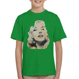 Sidney Maurer Original Portrait Of Marilyn Monroe Kids T-Shirt - Kids Boys T-Shirt