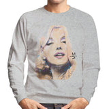 Sidney Maurer Original Portrait Of Marilyn Monroe Mens Sweatshirt - Mens Sweatshirt