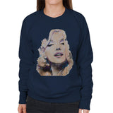 Sidney Maurer Original Portrait Of Marilyn Monroe Womens Sweatshirt - Womens Sweatshirt