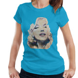 Sidney Maurer Original Portrait Of Marilyn Monroe Womens T-Shirt - Womens T-Shirt