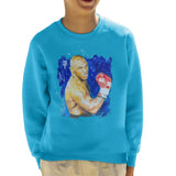 Sidney Maurer Original Portrait Of Mike Tyson Kids Sweatshirt - Kids Boys Sweatshirt