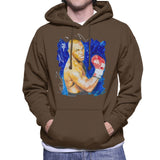 Sidney Maurer Original Portrait Of Mike Tyson Mens Hooded Sweatshirt - Mens Hooded Sweatshirt