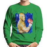 Sidney Maurer Original Portrait Of Mike Tyson Mens Sweatshirt - Mens Sweatshirt