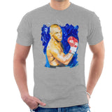 Sidney Maurer Original Portrait Of Mike Tyson Mens T-Shirt - Mens T-Shirt