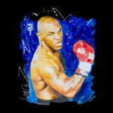 Sidney Maurer Original Portrait Of Mike Tyson Womens T-Shirt - Womens T-Shirt