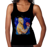 Sidney Maurer Original Portrait Of Mike Tyson Womens Vest - Womens Vest