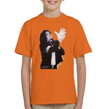 Sidney Maurer Original Portrait Of Michael Jackson White Glove Kids T-Shirt - Kids Boys T-Shirt