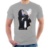 Sidney Maurer Original Portrait Of Michael Jackson White Glove Mens T-Shirt - Mens T-Shirt