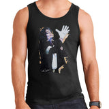 Sidney Maurer Original Portrait Of Michael Jackson White Glove Mens Vest - Mens Vest