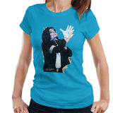 Sidney Maurer Original Portrait Of Michael Jackson White Glove Womens T-Shirt - Womens T-Shirt