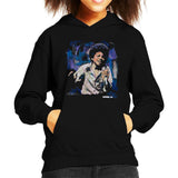 Sidney Maurer Original Portrait Of Young Michael Jackson Kid's Hooded Sweatshirt