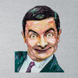 Sidney Maurer Original Portrait Of Mr Bean Rowan Atkinson Mens T-Shirt - Mens T-Shirt
