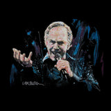 Sidney Maurer Original Portrait Of Neil Diamond Singing Mens Vest - Mens Vest