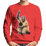 Sidney Maurer Original Portrait Of Pele Mens Sweatshirt - Mens Sweatshirt