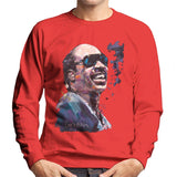 Sidney Maurer Original Portrait Of Stevie Wonder Mens Sweatshirt - Mens Sweatshirt