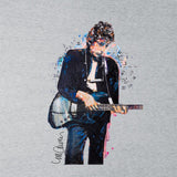 Sidney Maurer Original Portrait Of Bob Dylan On Bass Mens Vest - Mens Vest