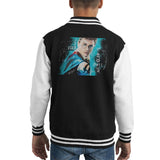 Sidney Maurer Original Portrait Of Daniel Radcliffe Harry Potter Kids Varsity Jacket - Kids Boys Varsity Jacket