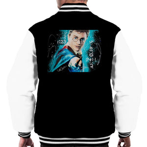 Sidney Maurer Original Portrait Of Daniel Radcliffe Harry Potter Mens Varsity Jacket - Mens Varsity Jacket