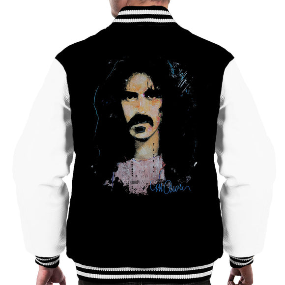 Sidney Maurer Original Portrait Of Frank Zappa Men's Varsity Jacket