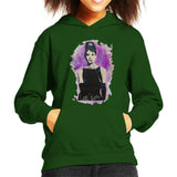 Sidney Maurer Original Portrait Of Audrey Hepburn Kids Hooded Sweatshirt - Kids Boys Hooded Sweatshirt