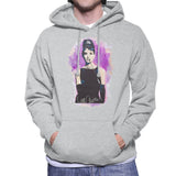 Sidney Maurer Original Portrait Of Audrey Hepburn Mens Hooded Sweatshirt - Mens Hooded Sweatshirt