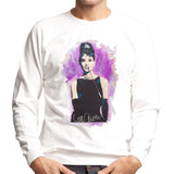 Sidney Maurer Original Portrait Of Audrey Hepburn Mens Sweatshirt - Mens Sweatshirt