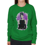 Sidney Maurer Original Portrait Of Audrey Hepburn Womens Sweatshirt - Womens Sweatshirt