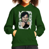 Sidney Maurer Original Portrait Of Jackie Chan Kids Hooded Sweatshirt - Kids Boys Hooded Sweatshirt