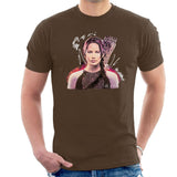 Sidney Maurer Original Portrait Of Jennifer Lawrence Hunger Games Mens T-Shirt - Mens T-Shirt