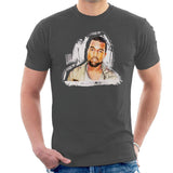 Sidney Maurer Original Portrait Of Kanye West Mens T-Shirt - Mens T-Shirt