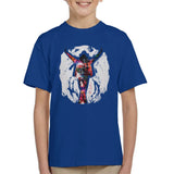 Sidney Maurer Original Portrait Of Michael Jackson This Is It Kids T-Shirt - Kids Boys T-Shirt