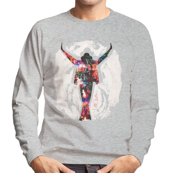 Sidney Maurer Original Portrait Of Michael Jackson This Is It Mens Sweatshirt - Mens Sweatshirt